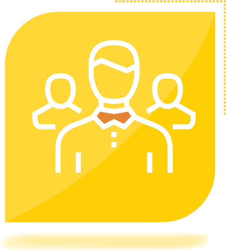 icon of man in collar